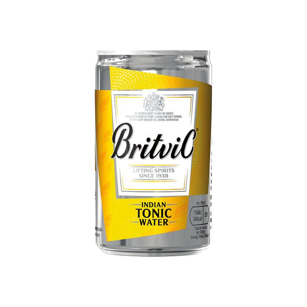 Britvic Indian Tonic Water Cans 24x150ml