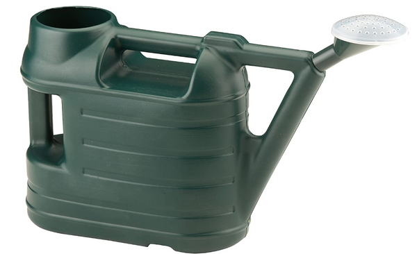 Green Watering Can With Rose 6.5 Litre