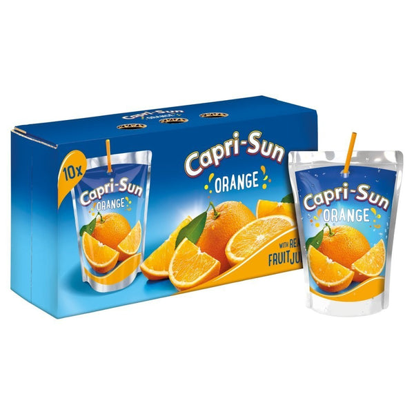 Capri-Sun Orange Juice Drinks 10 x 200ml
