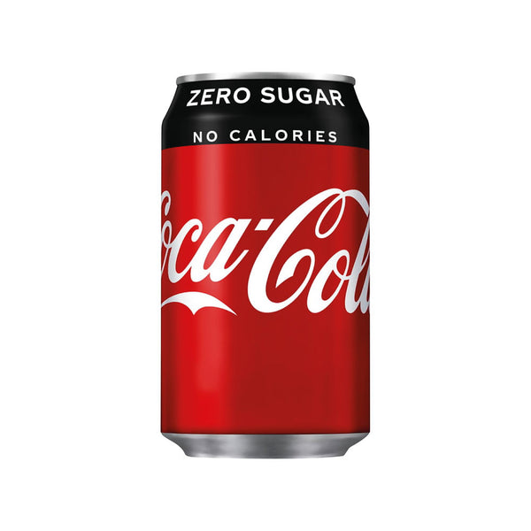 Coke Zero Soft Drink 330ml (Pack of 24)