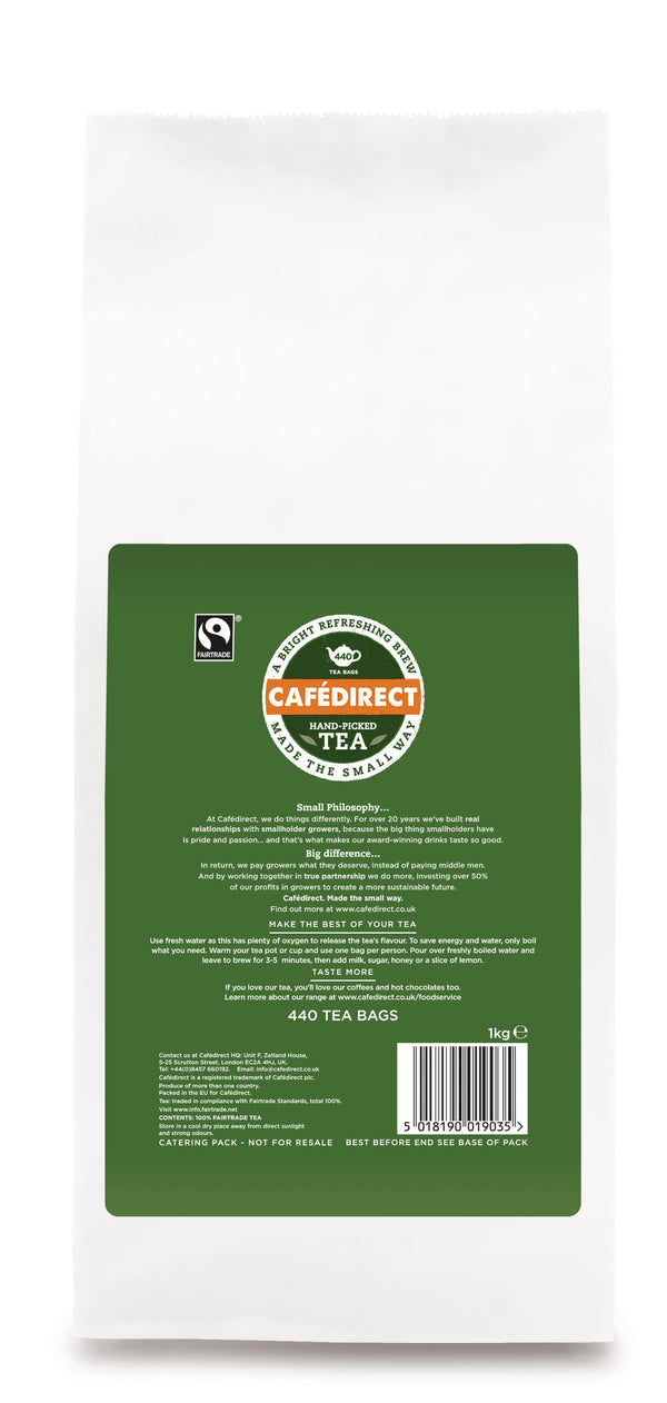 Cafe Direct Fairtrade Tea 440's
