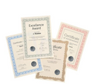 Computer Crafts A4 90g Blue Certificate Papers Pack 30's