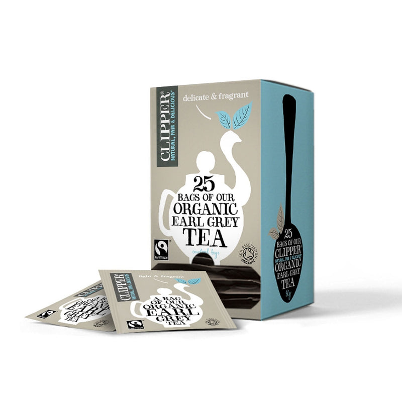 Clipper Fairtrade Organic Earl Grey Enveloped Infusion Tea 25