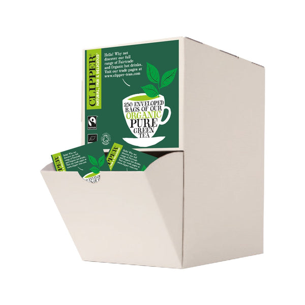 Clipper Organic Green Tea Fairtrade Enveloped (250)