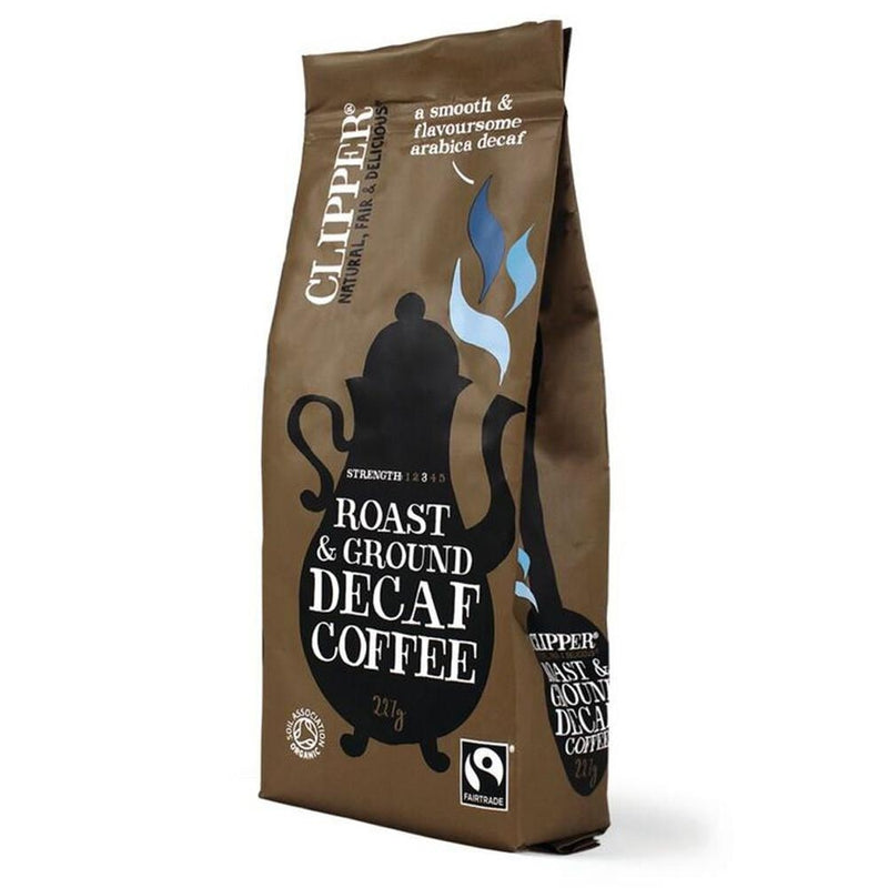 Clipper Fairtrade Decaf Organic 227g Coffee
