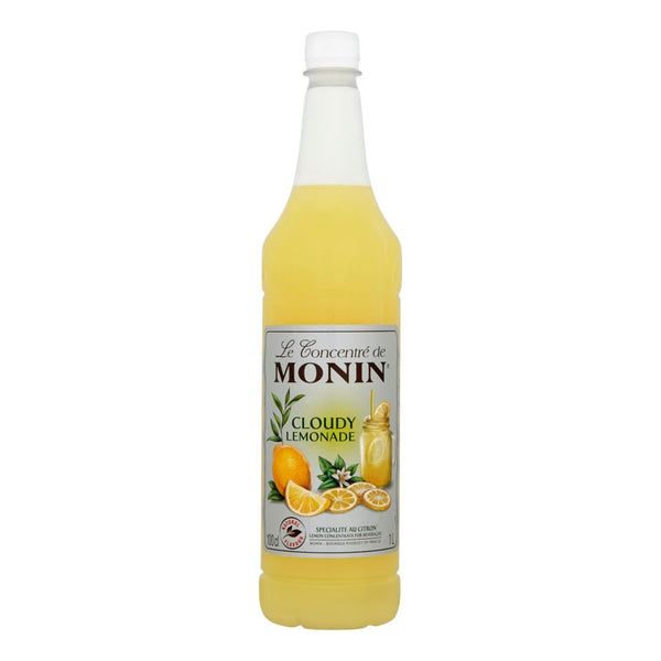 Monin Cloudy Lemonade Concentrate 1 Litre