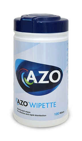 Azo Disinfectant Surface Wipes 100's