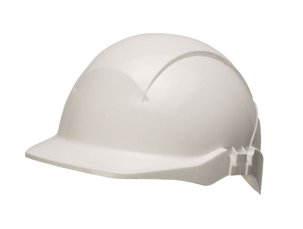 Centurion Concept Reduced Peak White Safety Helmet