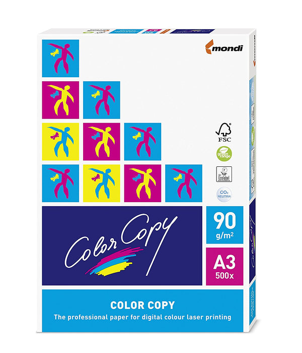 Color Copy A3 Paper White 90gsm 500 Sheets