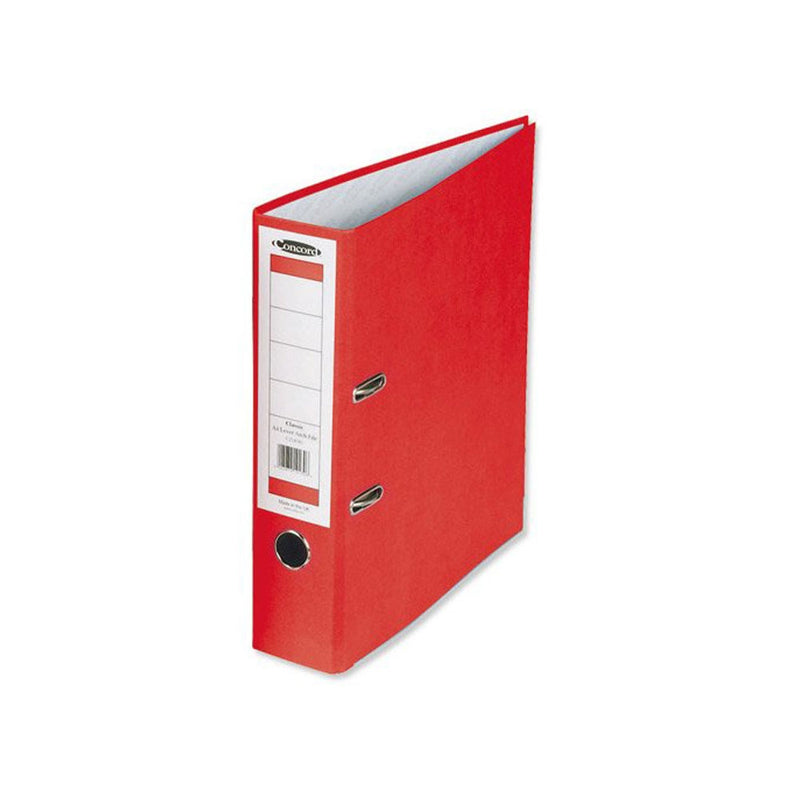 Concord Classic A4 Red Lever Arch File (10 Pack)