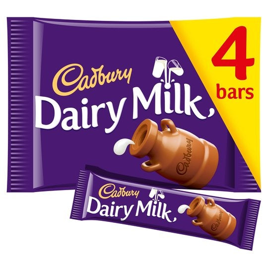 Cadbury Dairy Milk Pack 4's