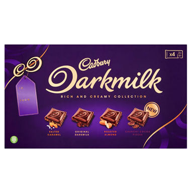 Cadbury Darkmilk Selection Chocolate Box 340g