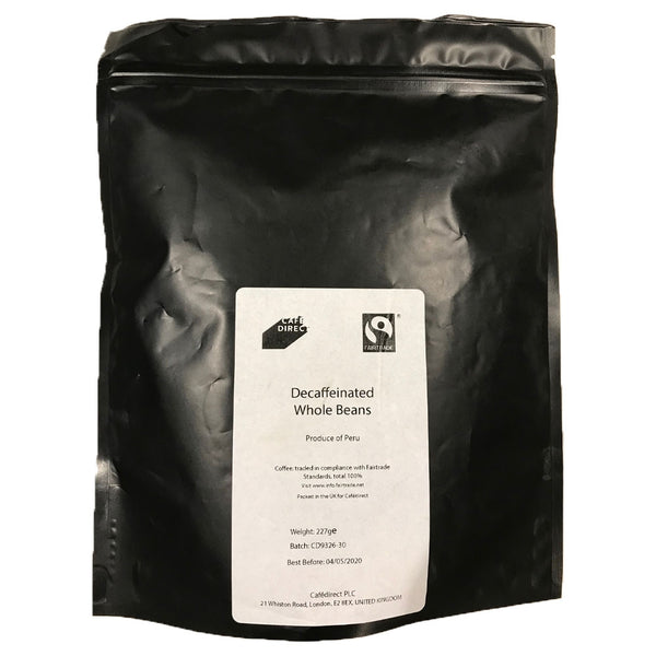 Cafe Direct Decaf Espresso Coffee Beans 227g