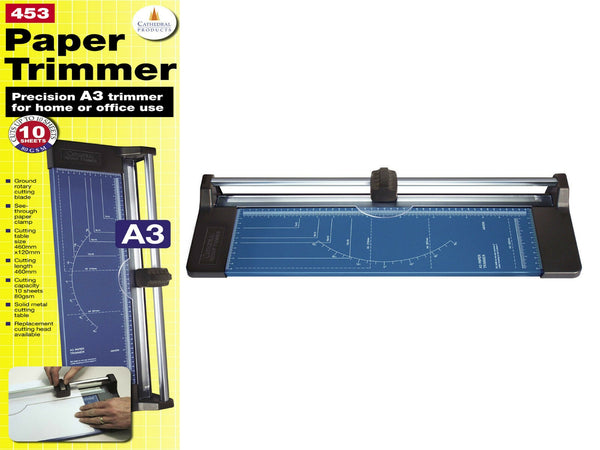 Cathedral A3 Precision 10 Sheet Rotary Paper Trimmer (A3) {453}