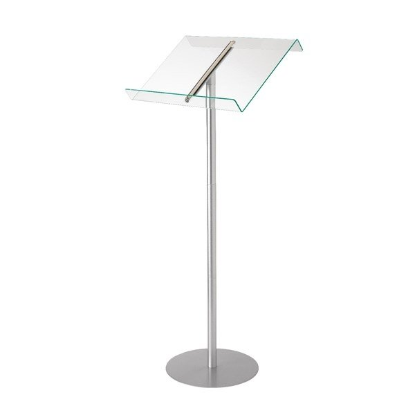Deflecto Browser Lectern with Floor Stand
