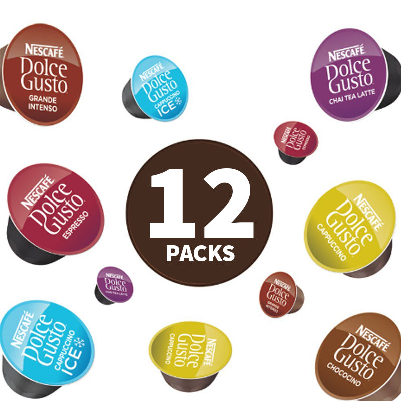 Dolce Gusto (Multi Pack Offer) 12 x 16 Pods