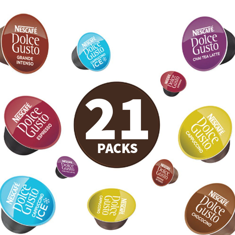 Dolce Gusto (Multi Pack Offer) 21 x 16 Pods