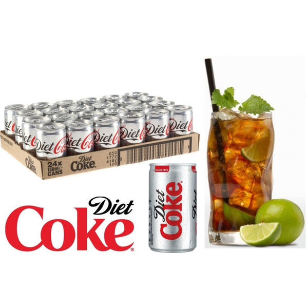 Diet Coke Cans 24 x 150ml
