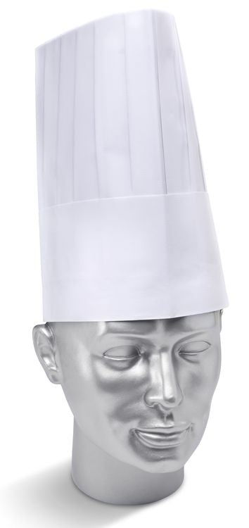 "Disposable 9"" Chefs Hat Pack 10's"