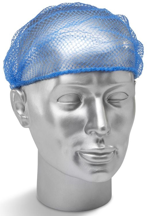 Disposable Hair Nets 5mm  Mesh Pack Size 144 {Colour Blue}
