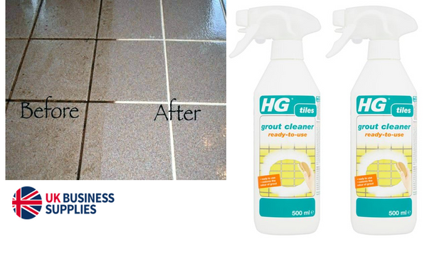 HG Tiles Grout Cleaner Ready To Use 500ml