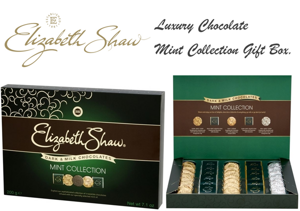 Elizabeth Shaw Dark & Milk Chocolate Mint Collection 200g