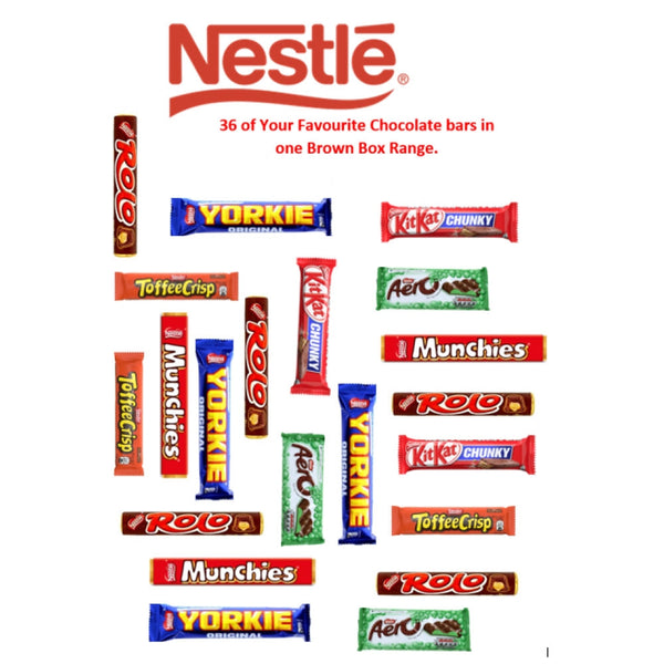 Nestle Favourites 2 Pack x 36 Bars {Brown Box Range}