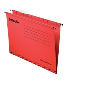 Esselte Pendaflex Foolscap Red Suspension Files Pack 25's