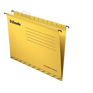Esselte Pendaflex Foolscap Yellow Suspension Files Pack 25's