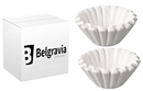Belgravia White 3 Pint Coffee Machine Filter Papers Bravilor (500s)