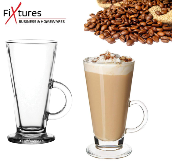 Fixtures 8oz Latte Glass Mug 227ml