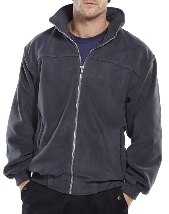 Endeavour Zipped Fleece GREY {All Sizes}