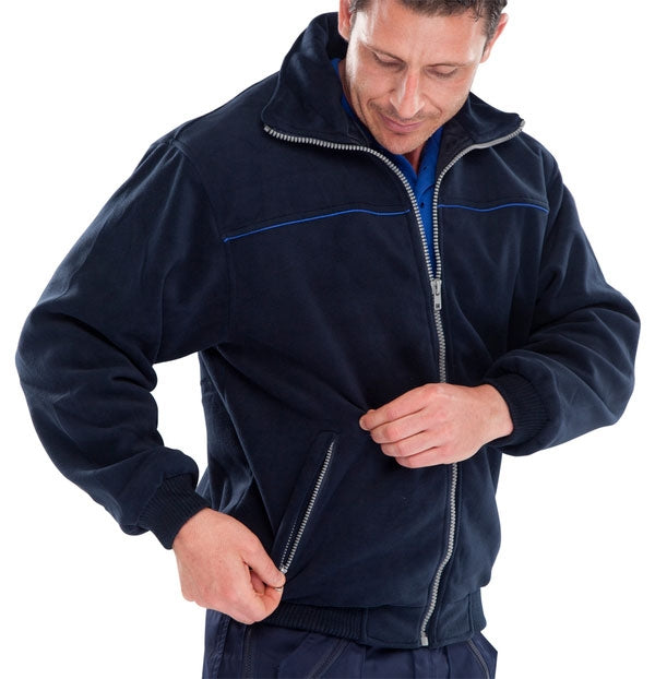 Endeavour Zipped Fleece NAVY {All Sizes}