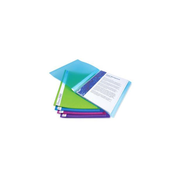 Rapesco A4 Assorted Flexi Display Book 10 Pocket