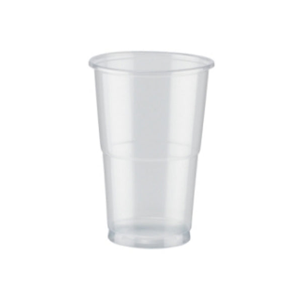 Plastic Flexi Pint Glasses Disposable 50's