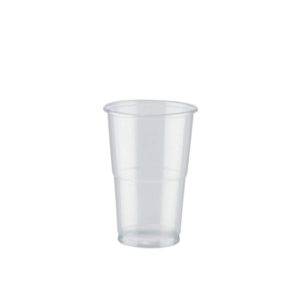 Plastic Flexi Half Pint Glasses Disposable 1000's