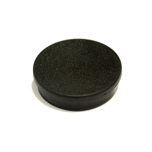 Bi-Office Black 10mm Round Magnets Pack 10's
