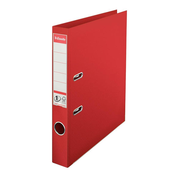 Esselte No.1 A4 Red Mini Lever Arch File 50mm Spine Pack of 10