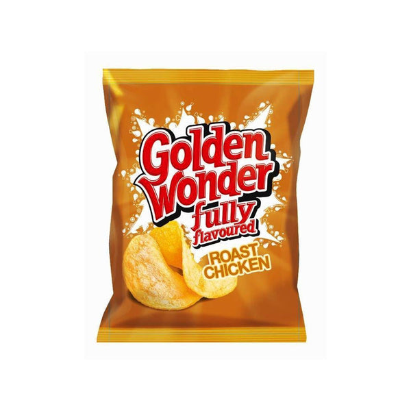 Golden Wonder Crisps Roast Chicken Pack 32's