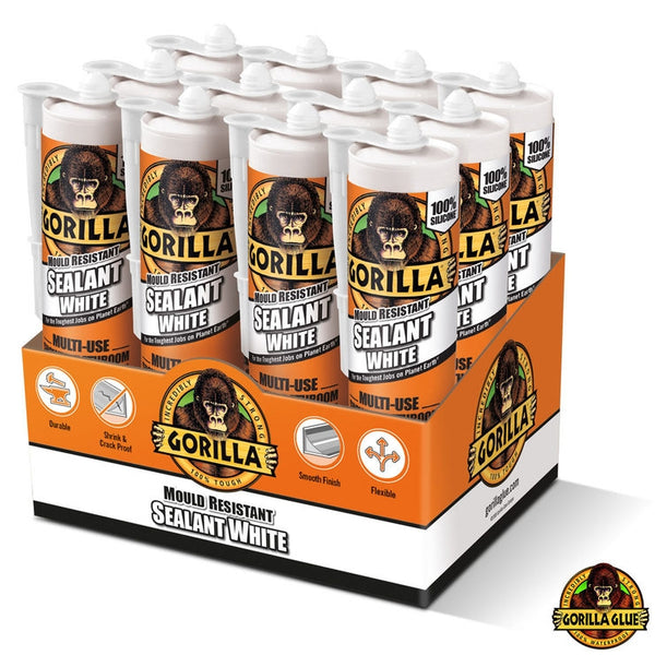 Gorilla Sealant White Multi Use 295ml