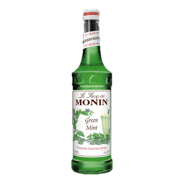 Monin Green Mint Coffee Syrup 1litre (Plastic)