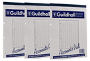 Guildhall Account Pad 8 Summary Column 298 x 210mm 60 Sheet Punched 4 Holes Code GP8S