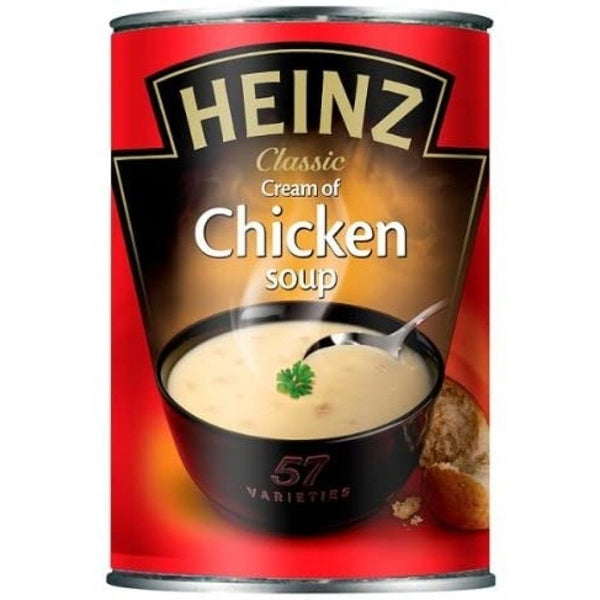 Heinz Classic Cream of Chicken Soup Tin 400g