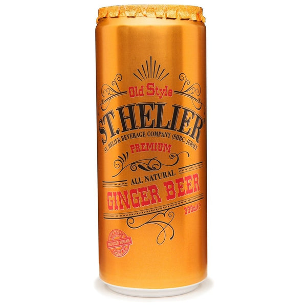 St. Helier Sparkling Ginger Beer Cans 24x330ml