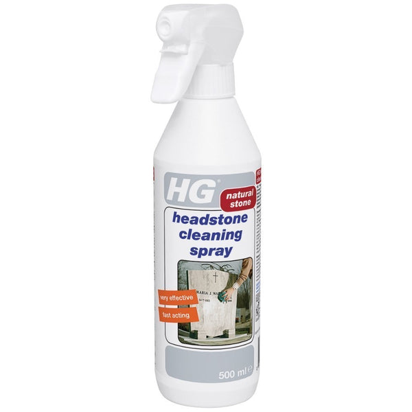 HG Natural Stone & Granite Headstone Cleaning Spray 500ML