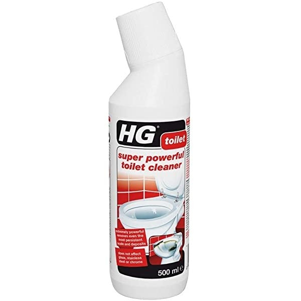 HG Toilet Super Powerful Toilet Cleaner 500ml