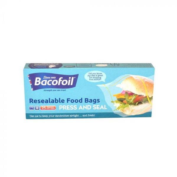 Bacofoil Sandwich Bags 25 Pack