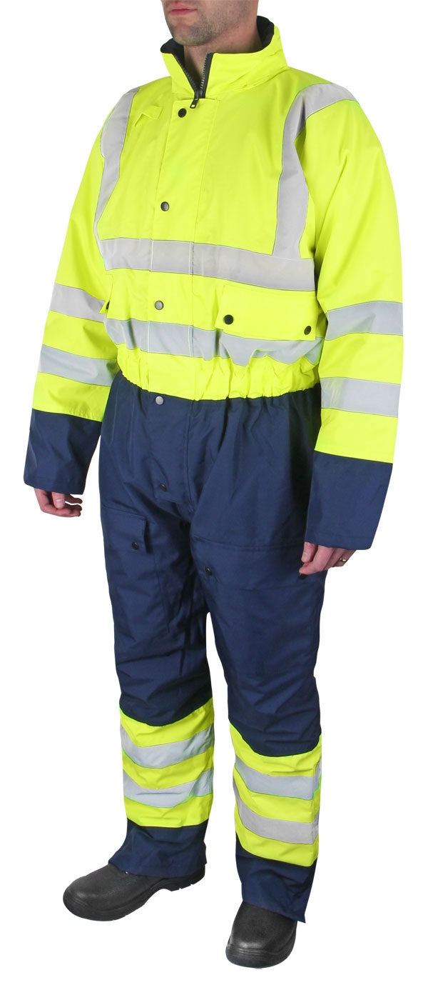 B-Seen Two Tone Small Thermal Waterproof Coverall