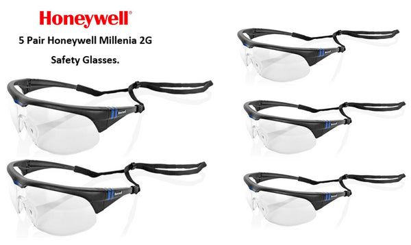 Honeywell Millenia 2G Safety Spectacles {HW1032175}