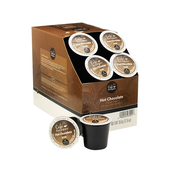 Keurig Cafe Escapes Hot Chocolate K-Cup Pods 24's (Out of Code)